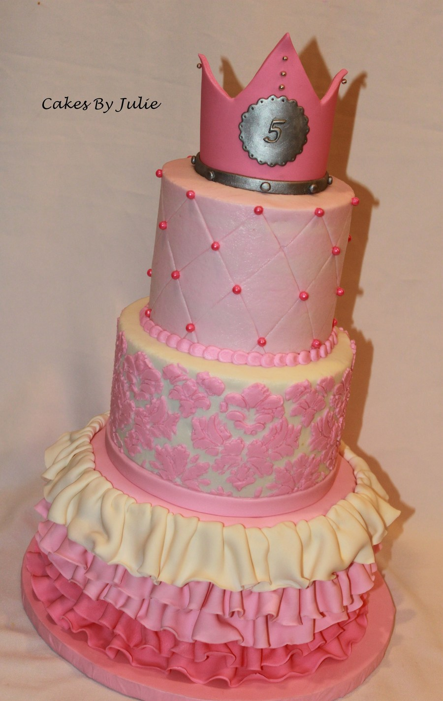Pink Princess Cake on Cake Central