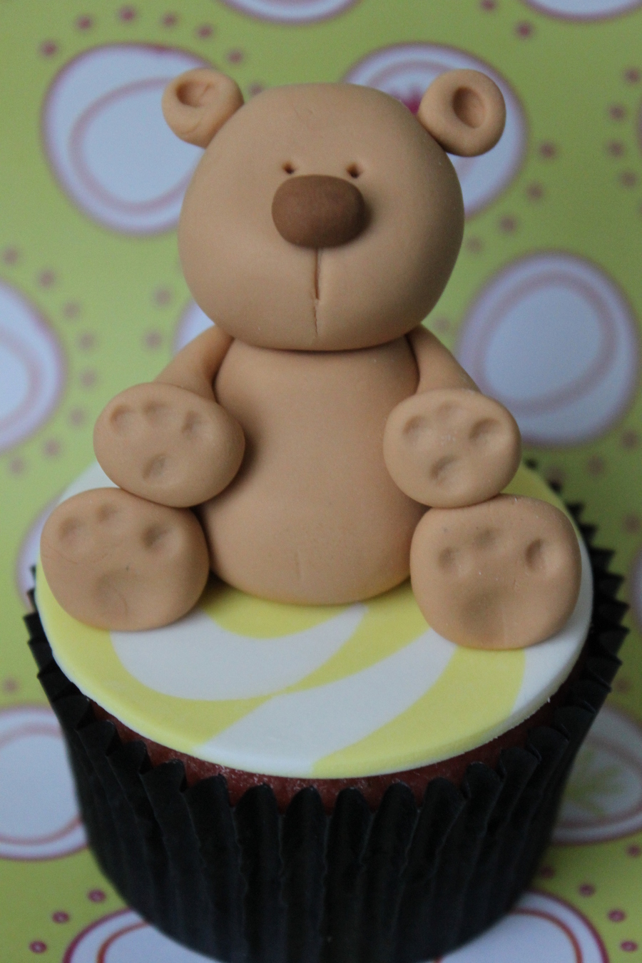 Tan Little Teddy  on Cake Central