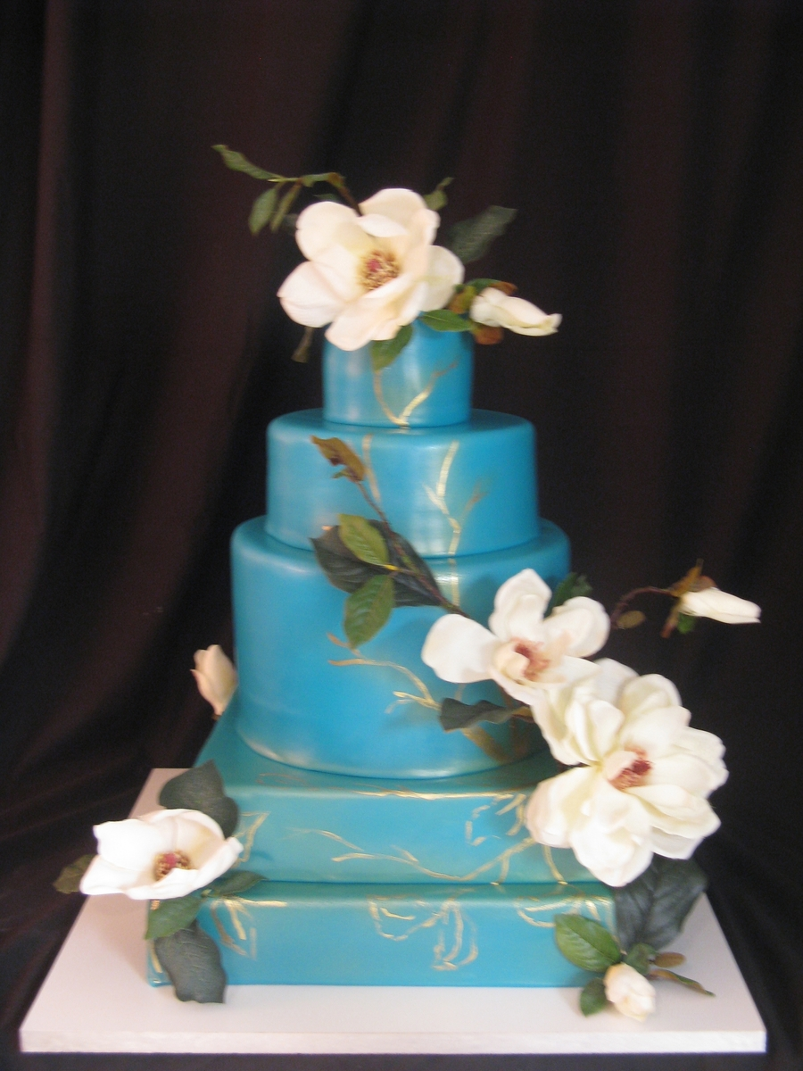 Magnolias  on Cake Central