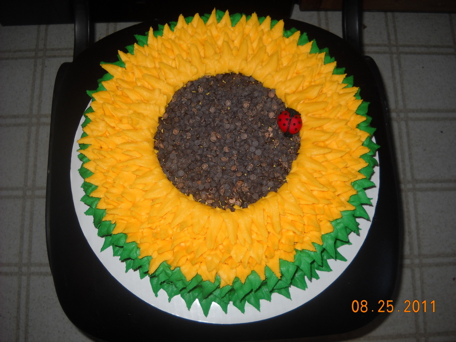 Sunflower on Cake Central