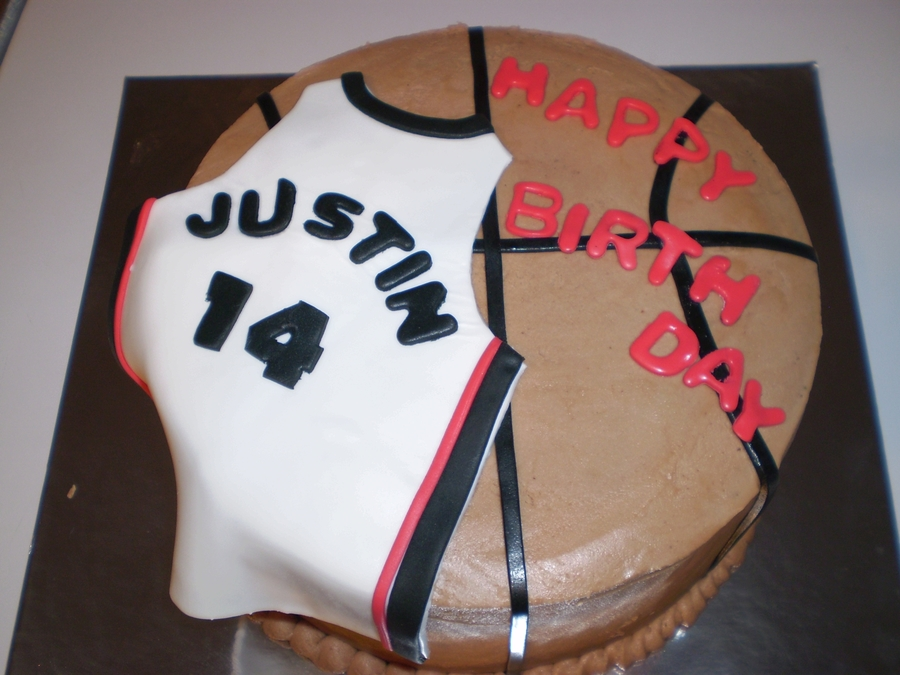 Basketball/heat Jersey on Cake Central