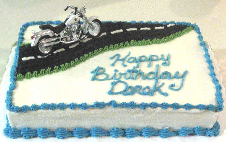 Motorcycle Decopac on Cake Central