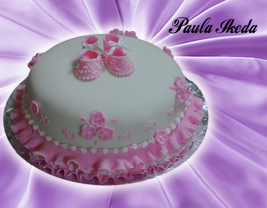 Pink Slipper on Cake Central