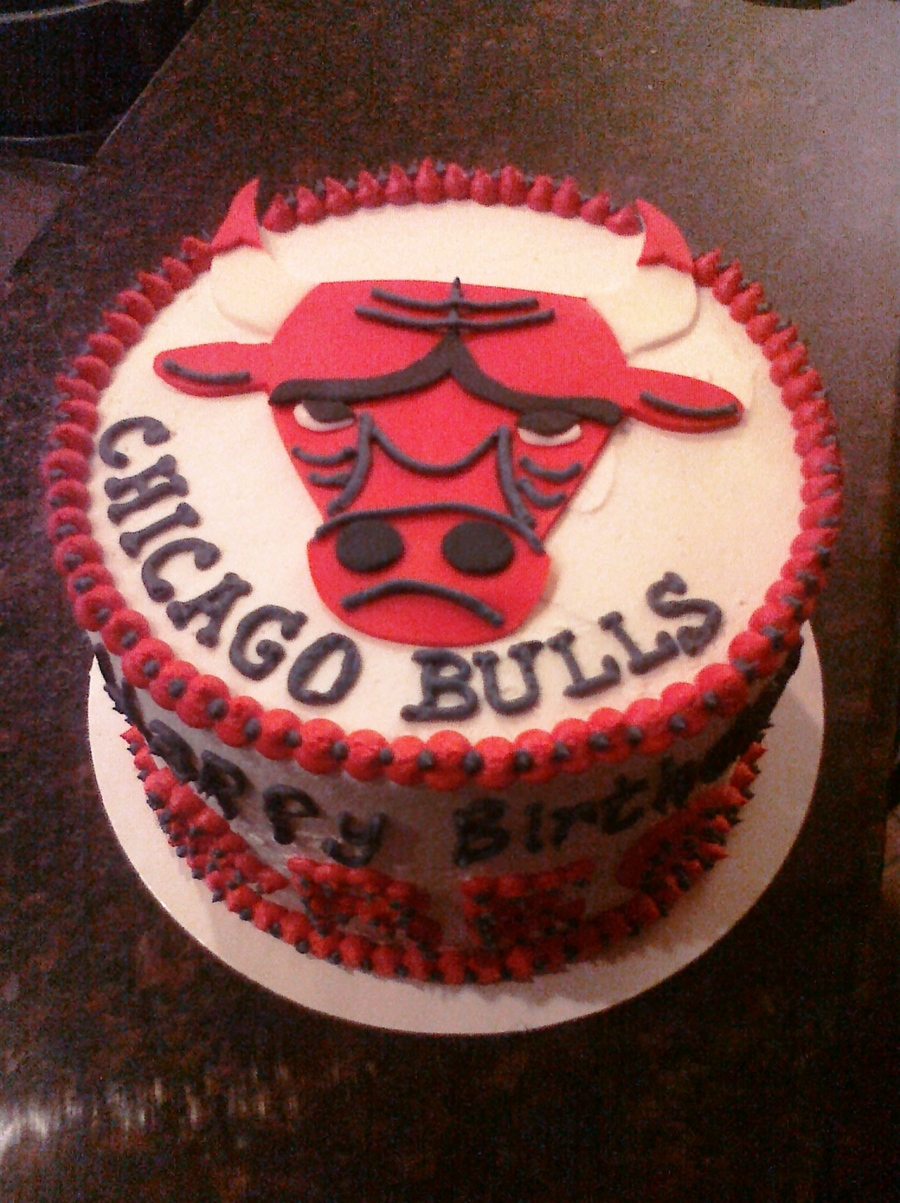 Chicago Bulls on Cake Central