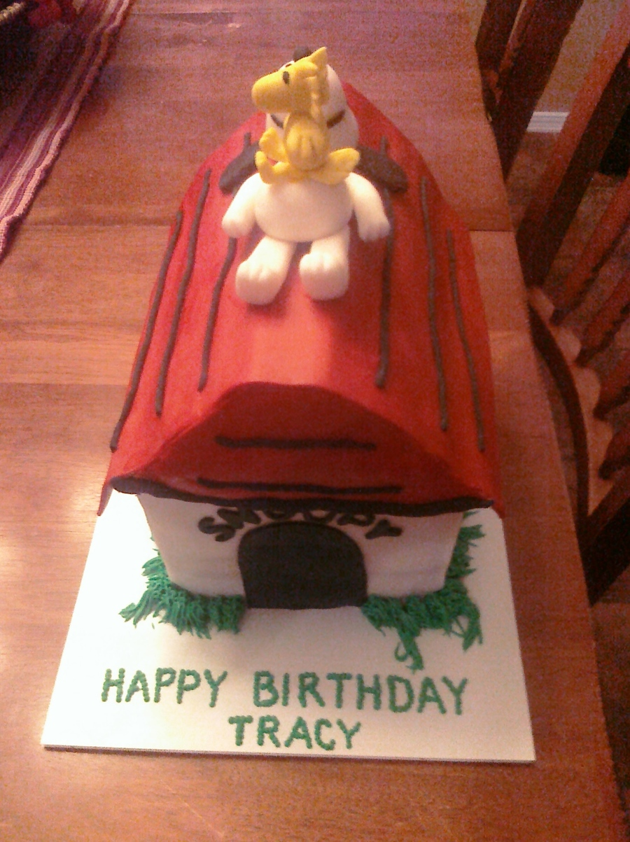Snoopy And Woodstock on Cake Central