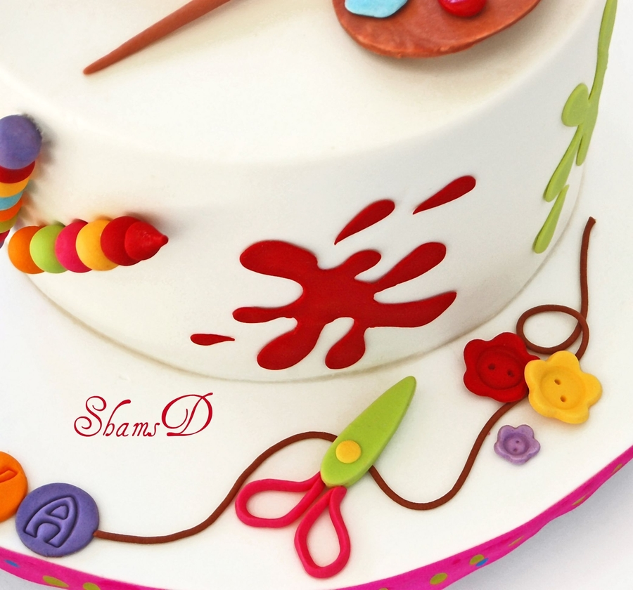 Art And Craft Cake Cakecentral