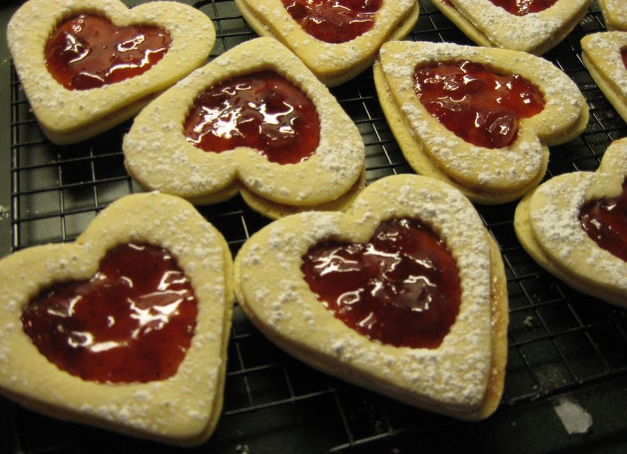 Heart Cookies  on Cake Central