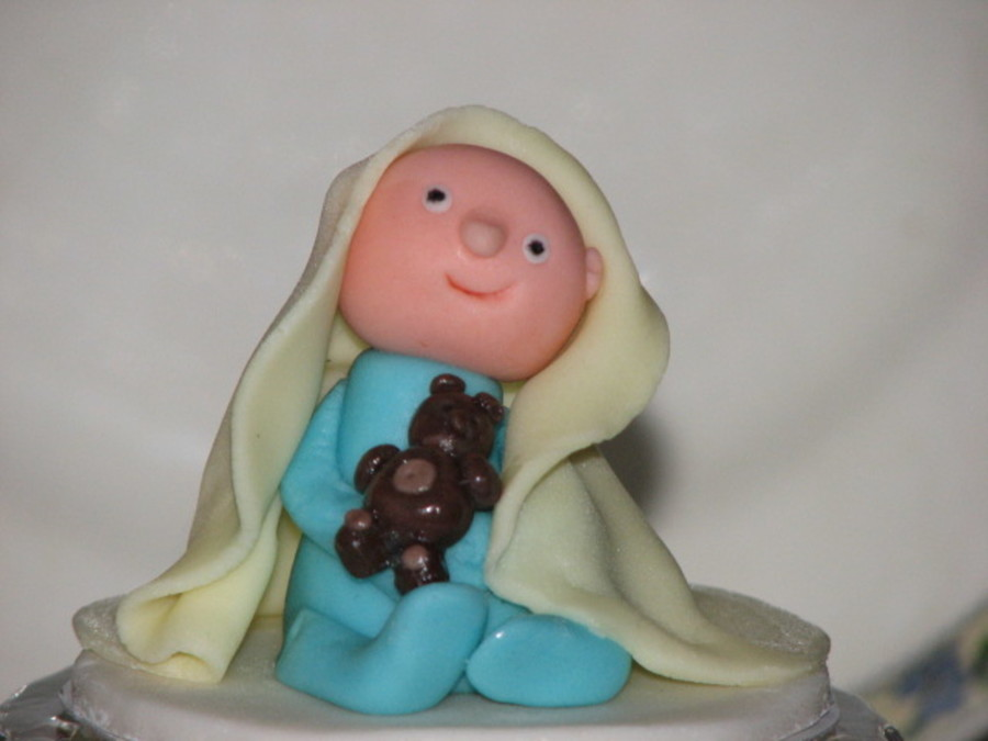 Baby Boy From Gumpaste on Cake Central