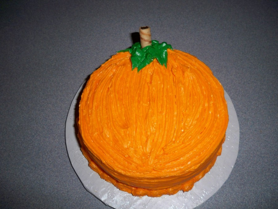 Pumpkin on Cake Central