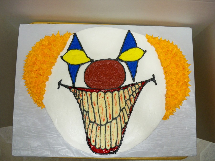 Scarey Clown on Cake Central