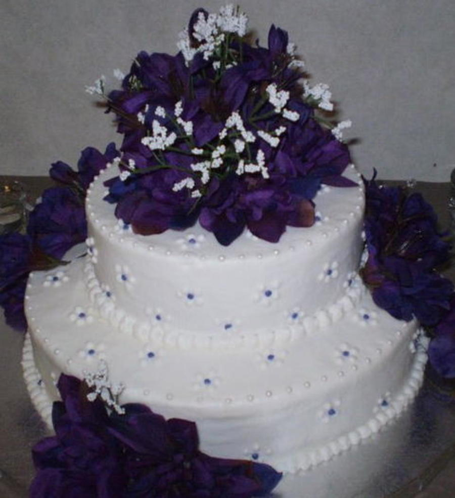 Pretty In Purple on Cake Central