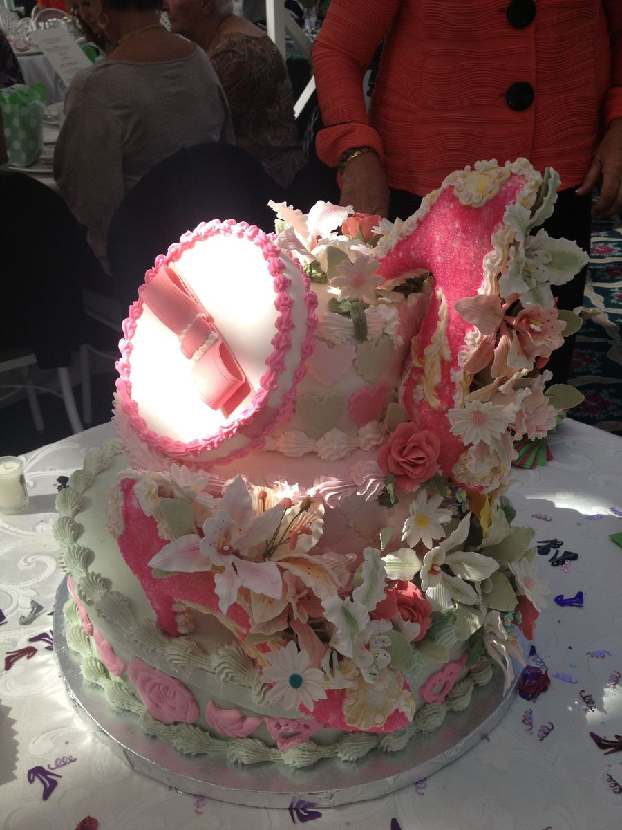 This Was A Cake For A Fashion Themed Bridal Shower on Cake Central