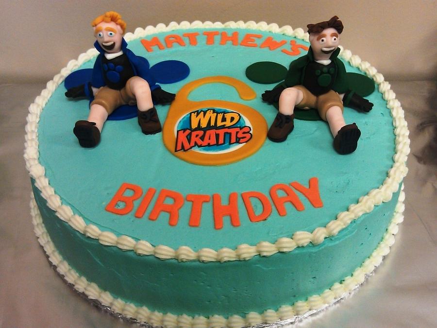 Wild Kratts Cake Cakecentral Com Rh Walmart Topper