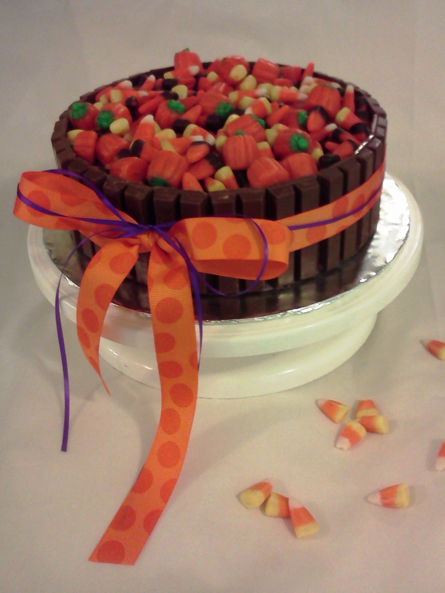Halloween Candy Cake on Cake Central