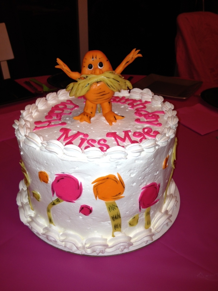Lorax on Cake Central