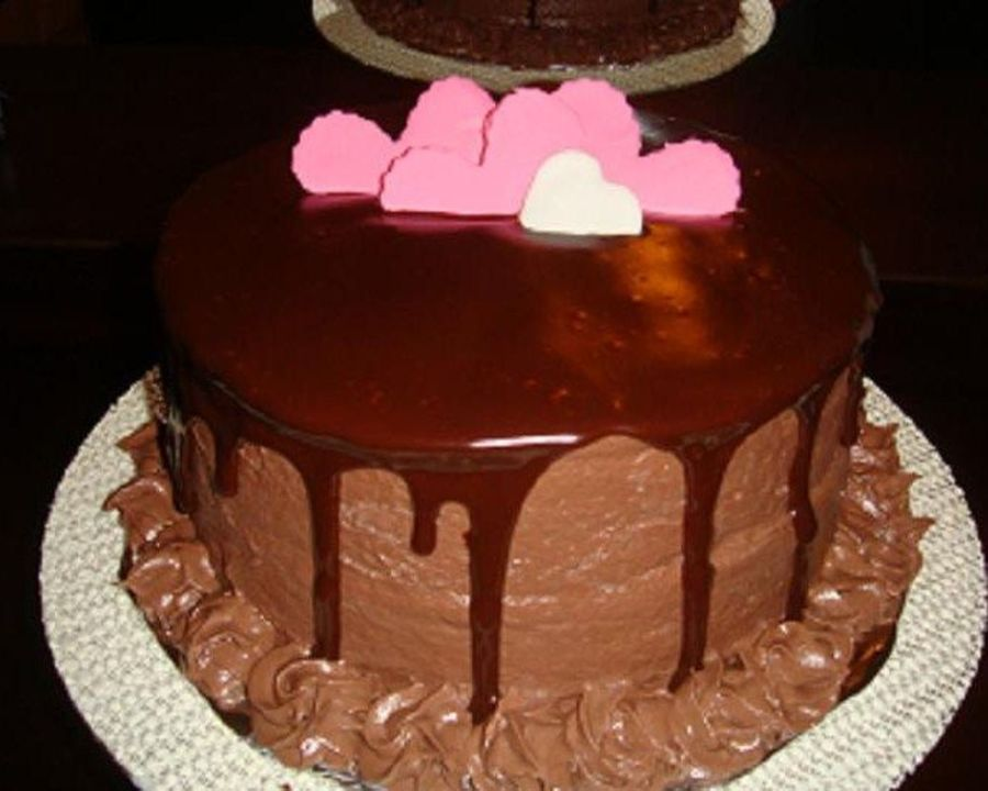 Chocolate Melts My Heart!  on Cake Central