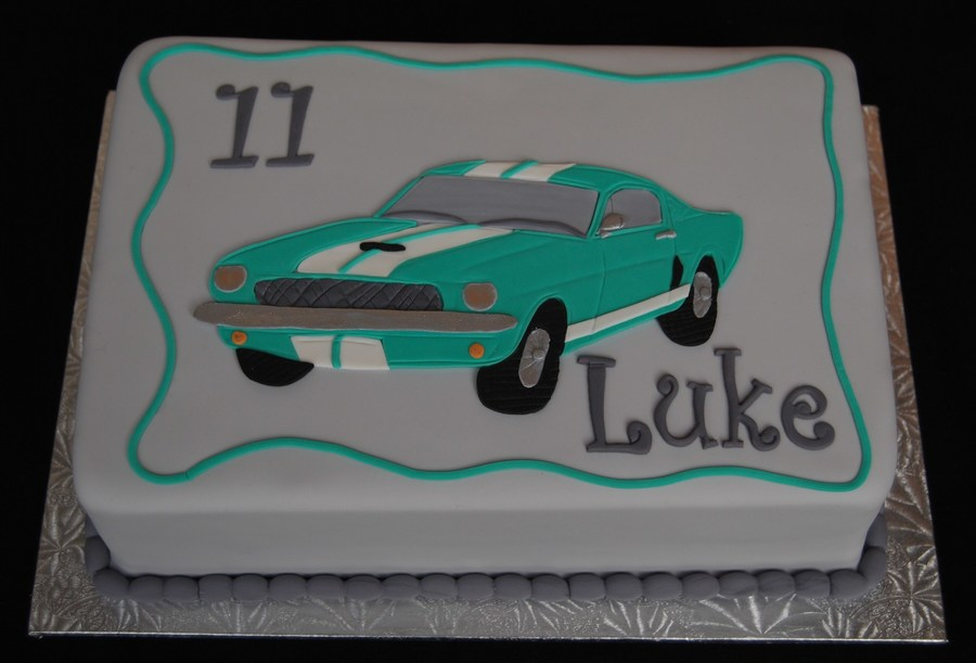 1965 Mustang 350 Gt Cake on Cake Central
