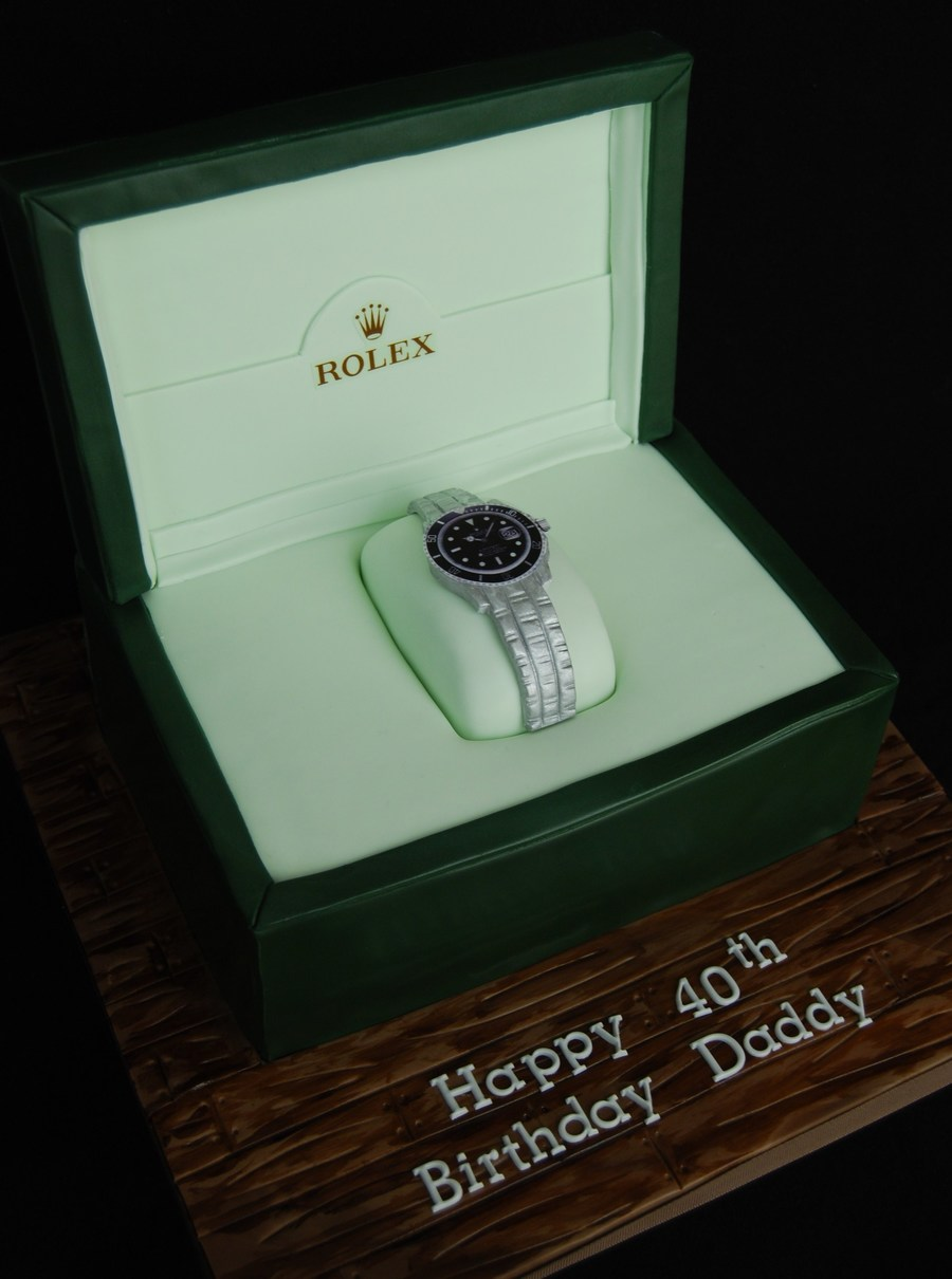 Rolex Watch Cake on Cake Central