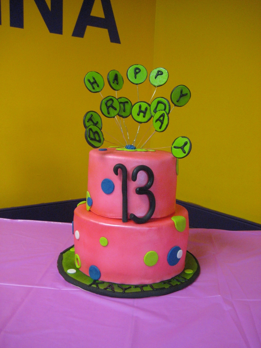 Turning 13 on Cake Central