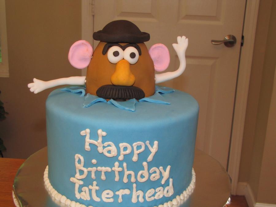 Astounding Mr Potato Head Cakecentral Com Personalised Birthday Cards Paralily Jamesorg