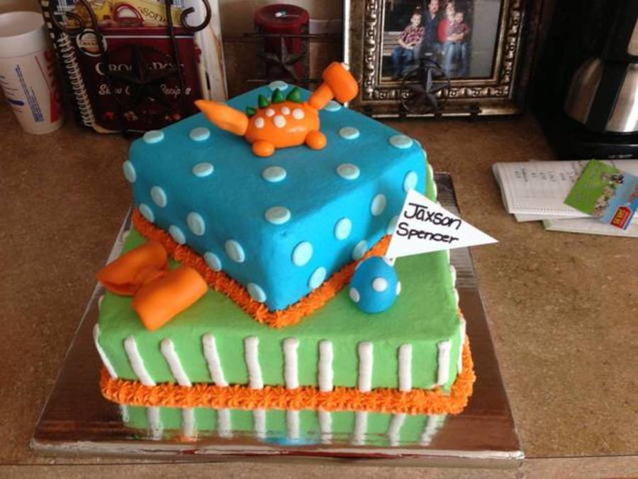 Baby Dinosaur on Cake Central