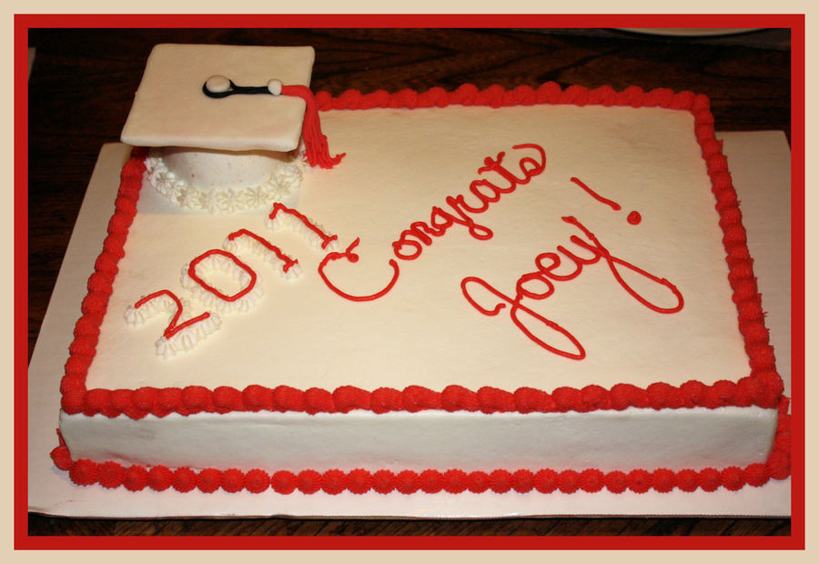 Graduation Cake 2011 on Cake Central