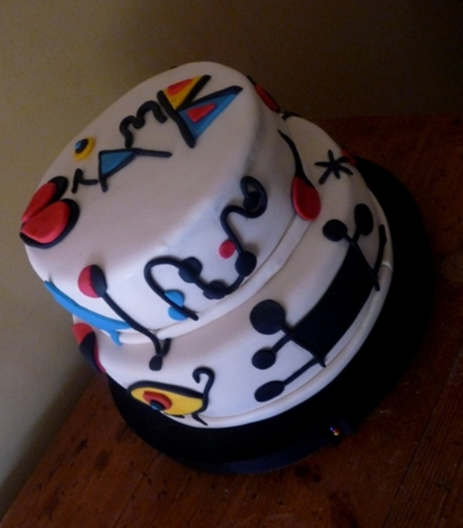 My Joan Miro Cake on Cake Central