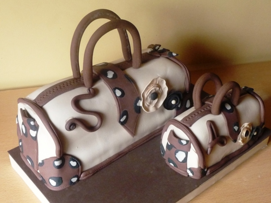 Animal Print Purses on Cake Central
