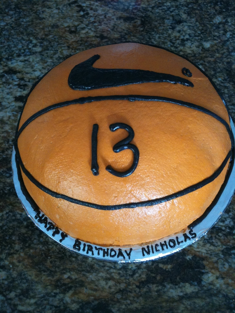 "Basketball ""cookie""ccake on Cake Central"