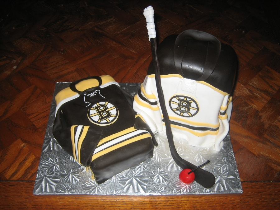 Boston Bruins Jersey Birthday Cake On Central