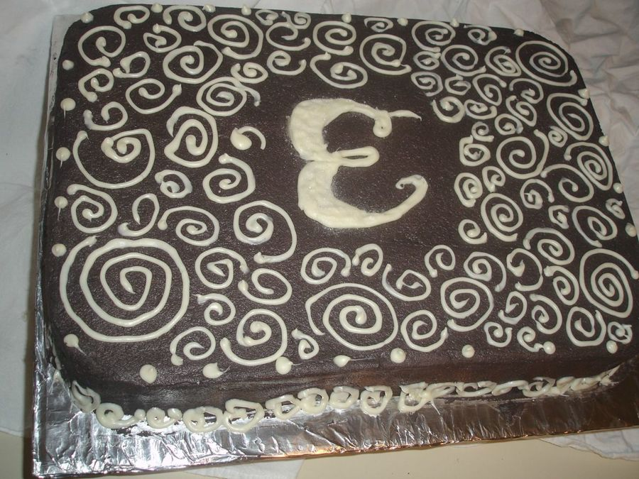 Chocolate Swirl on Cake Central