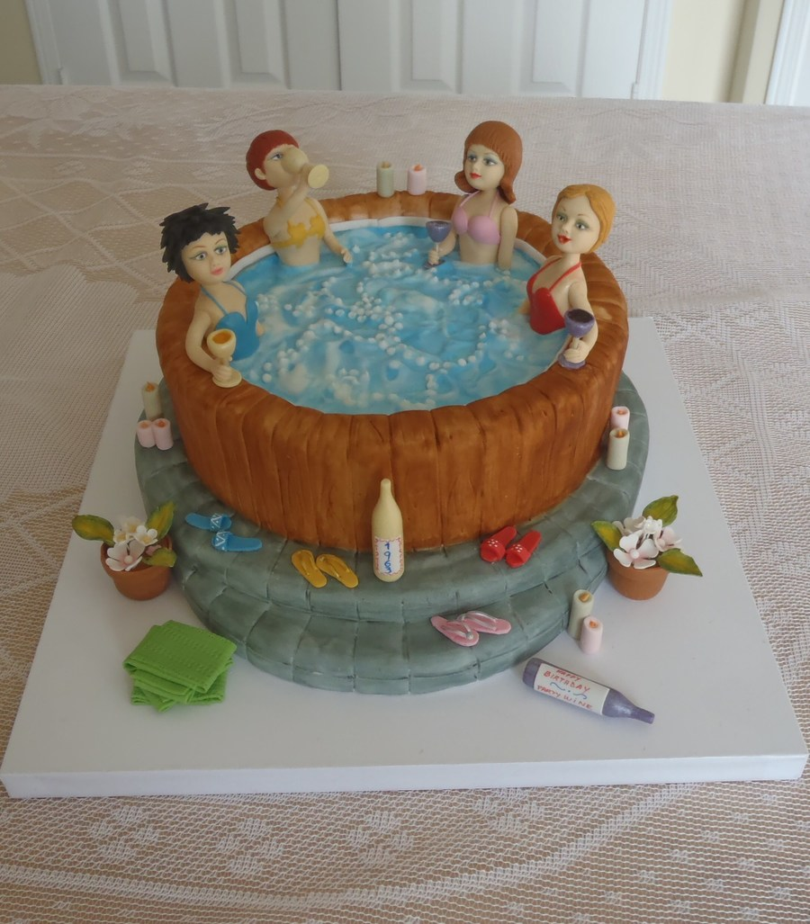 Hot Tub Cake Ideas
