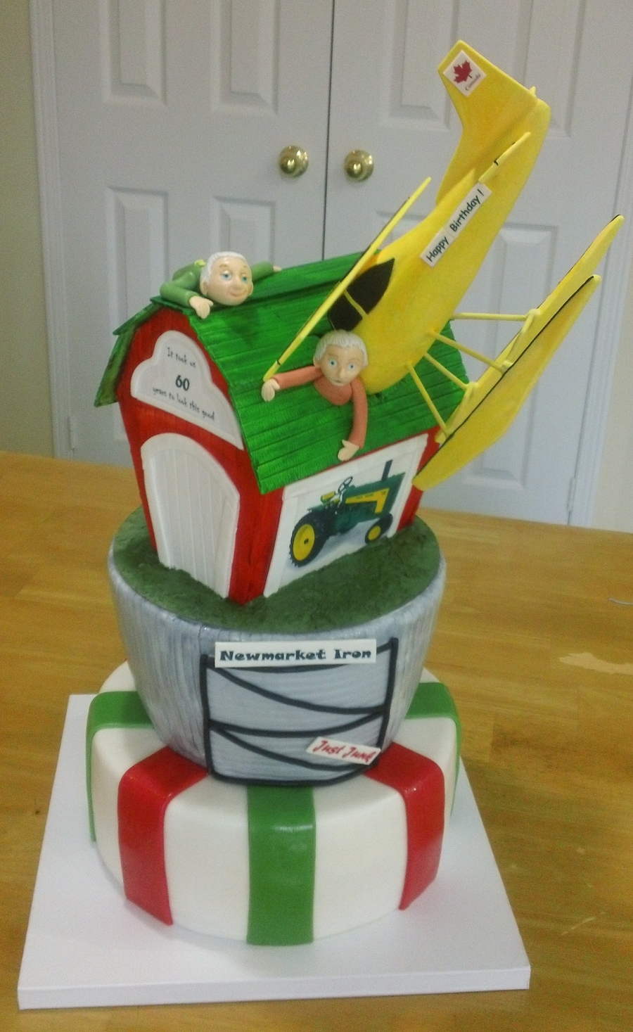 Plane Trouble  on Cake Central