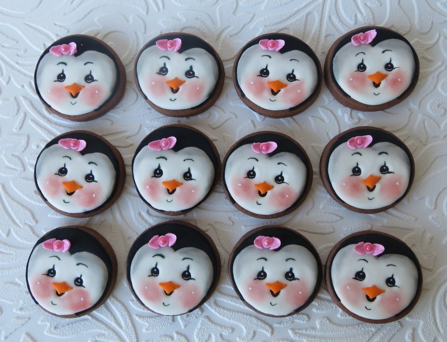 Penguin Chocolate Cookies on Cake Central