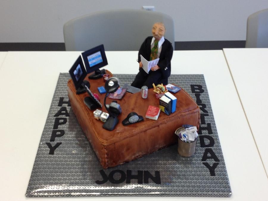 Birthday Cake For Boss CakeCentralcom