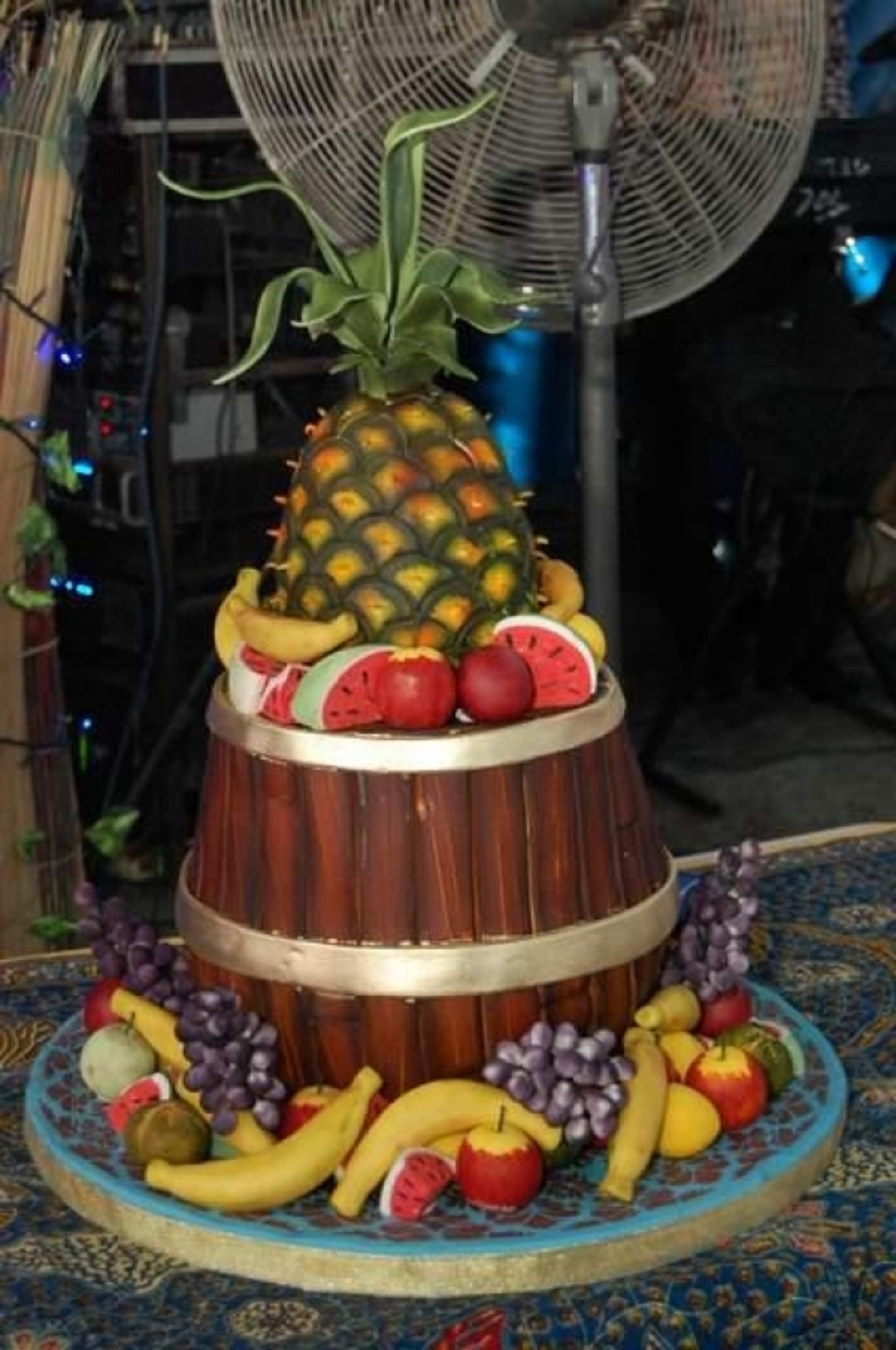 Fruit Barrel on Cake Central