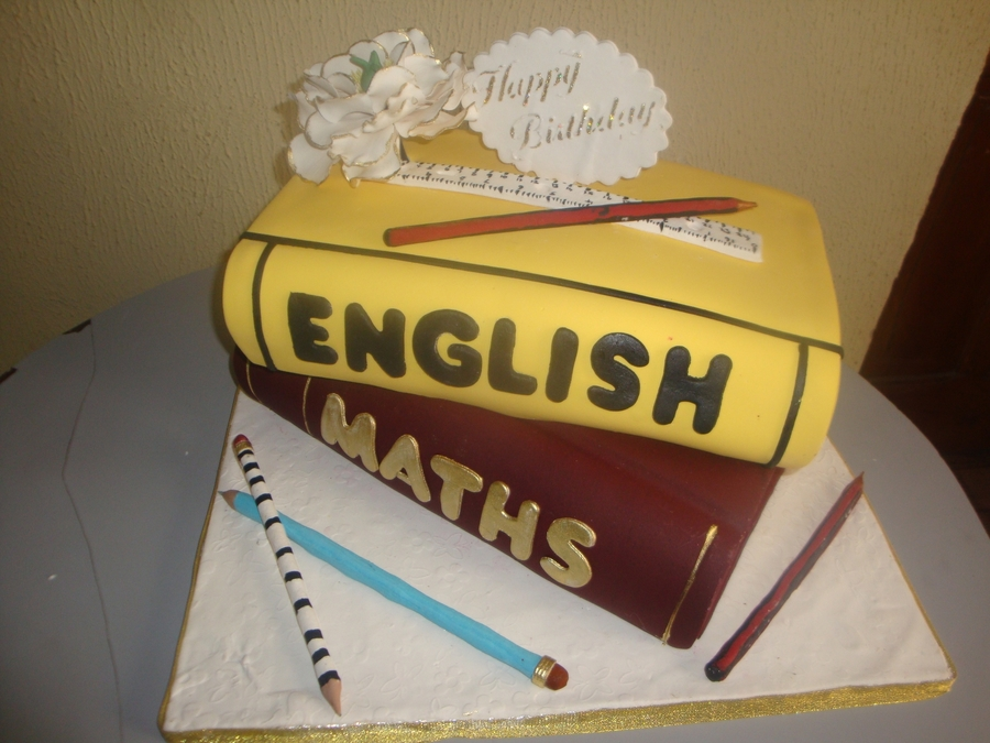 Teacher's Birthday on Cake Central