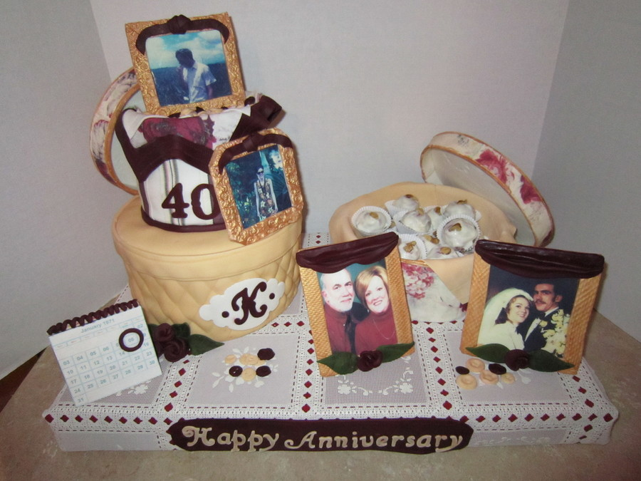 Anniversary Cake on Cake Central