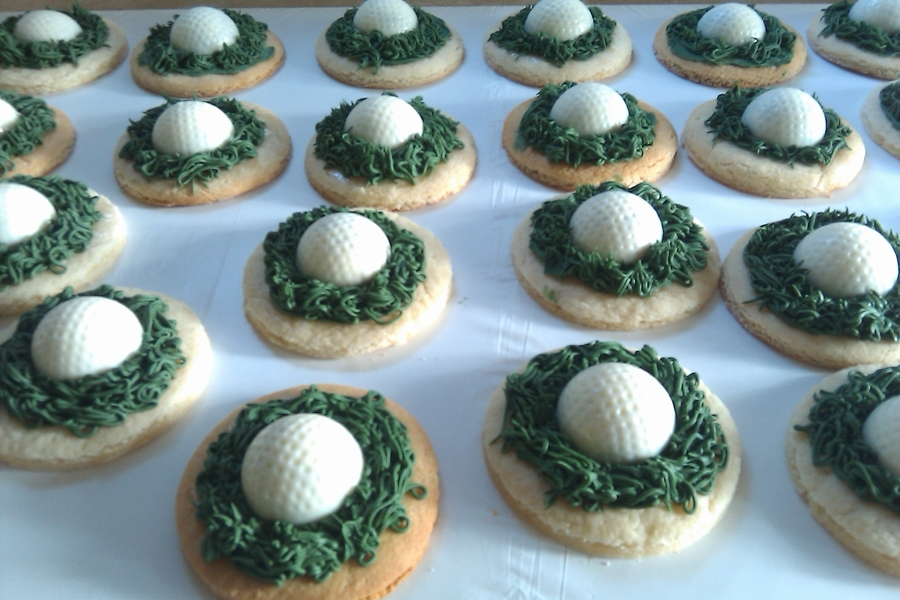 Cookies For A Golfer on Cake Central