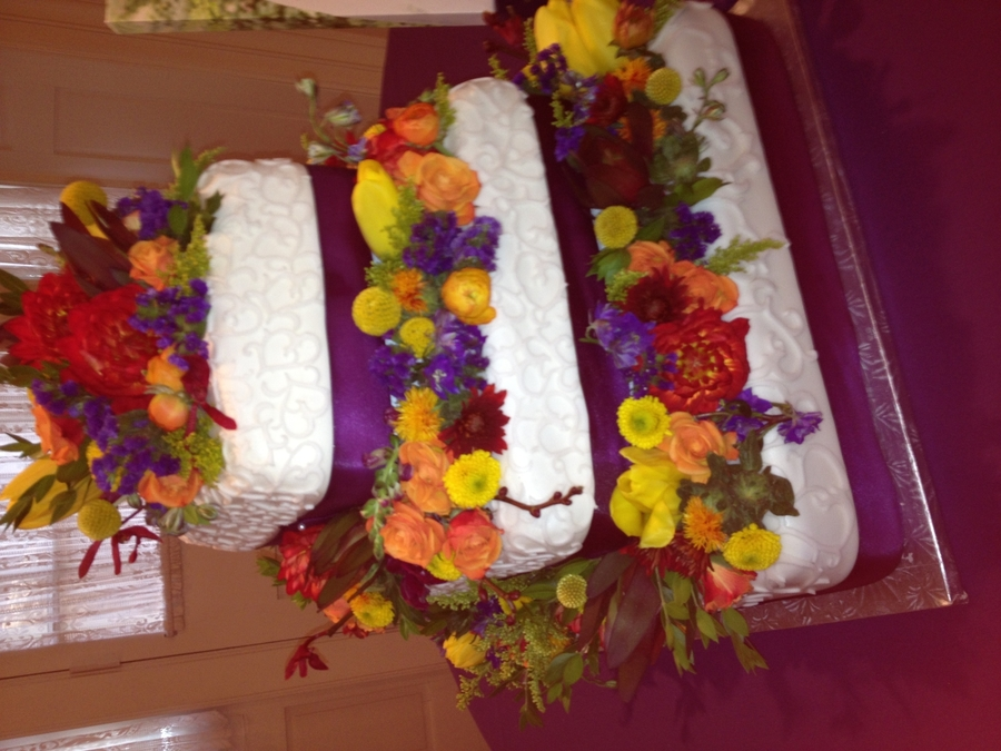 Fall Royal Purple on Cake Central