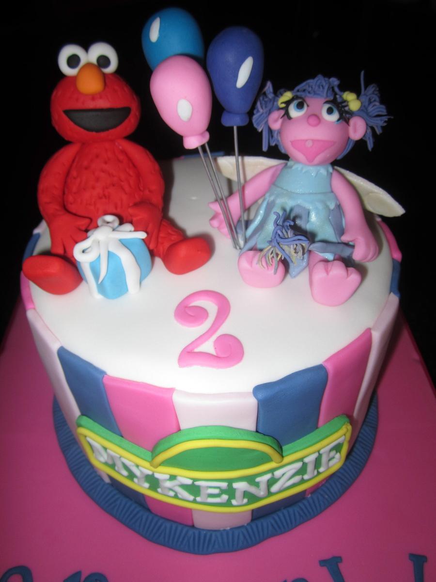 Phenomenal Elmo And Abby Cadabby Cakecentral Com Funny Birthday Cards Online Necthendildamsfinfo