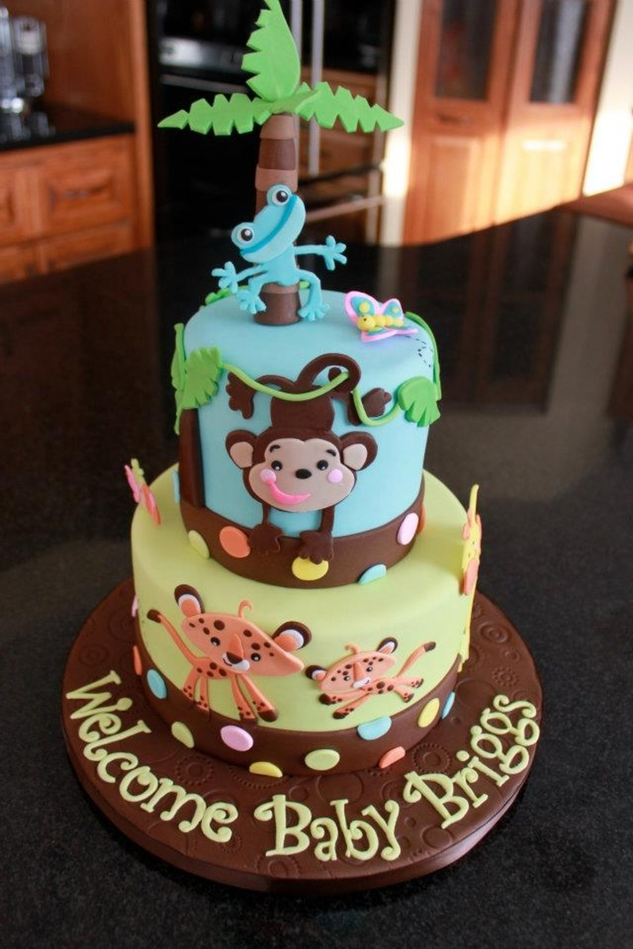 fisher price baby shower cake
