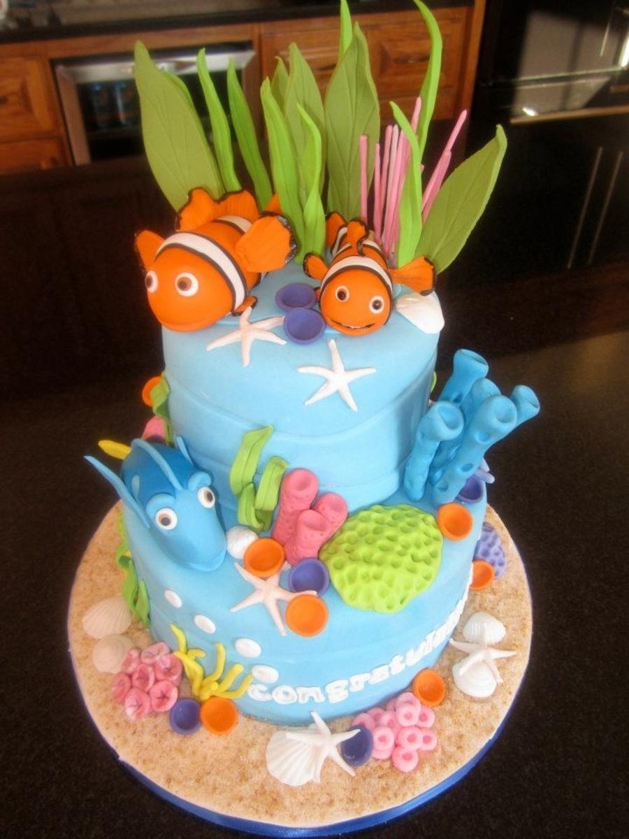 Baby Dory Cake