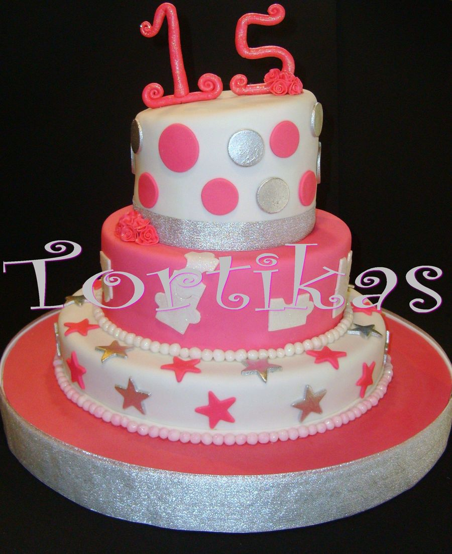 Sweet Fifteen on Cake Central