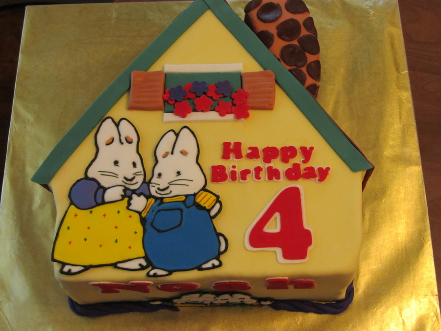 Max And Ruby Birthday Cake Cakecentral Com