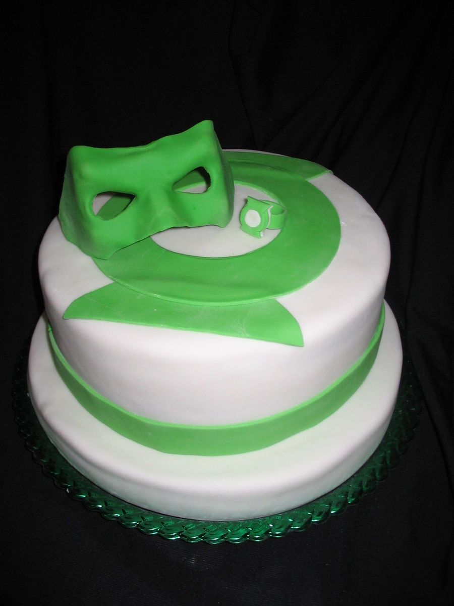 Green Lantern on Cake Central
