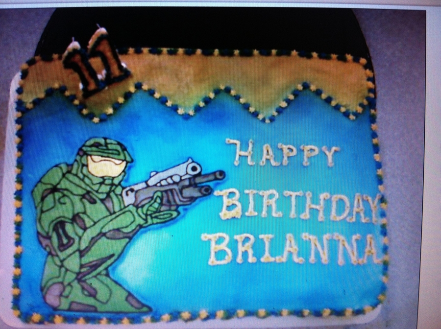 Halo on Cake Central