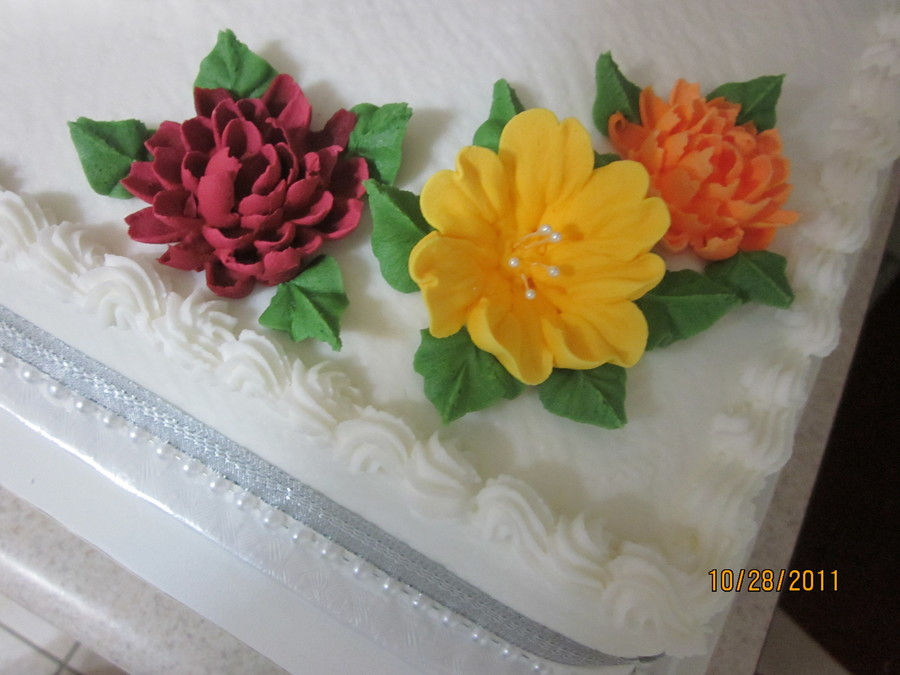 Th th wedding anniversary cakecentral