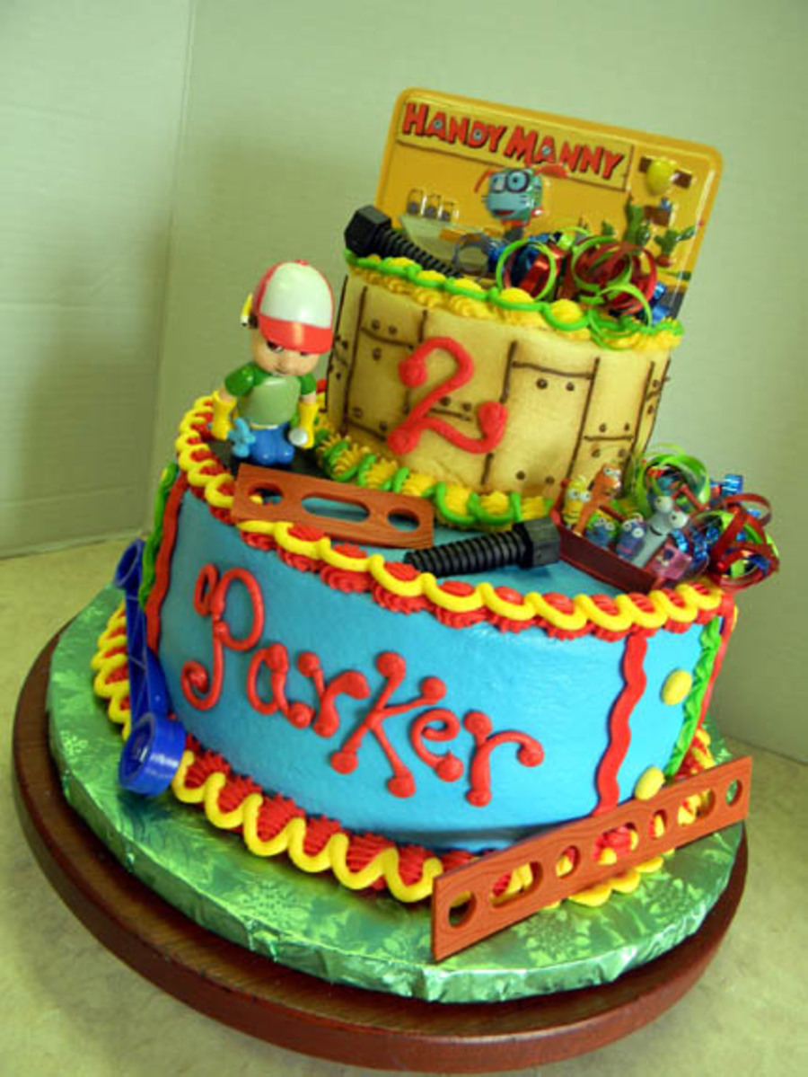 Handy Manny on Cake Central