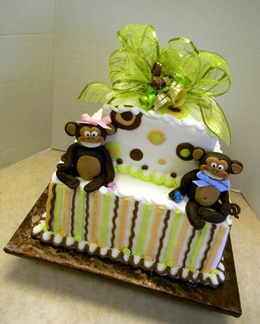 Monkey Babies on Cake Central